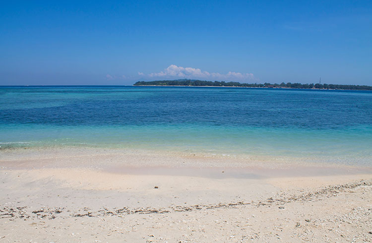 The best beaches on Gili Air, Indonesia -- the north west