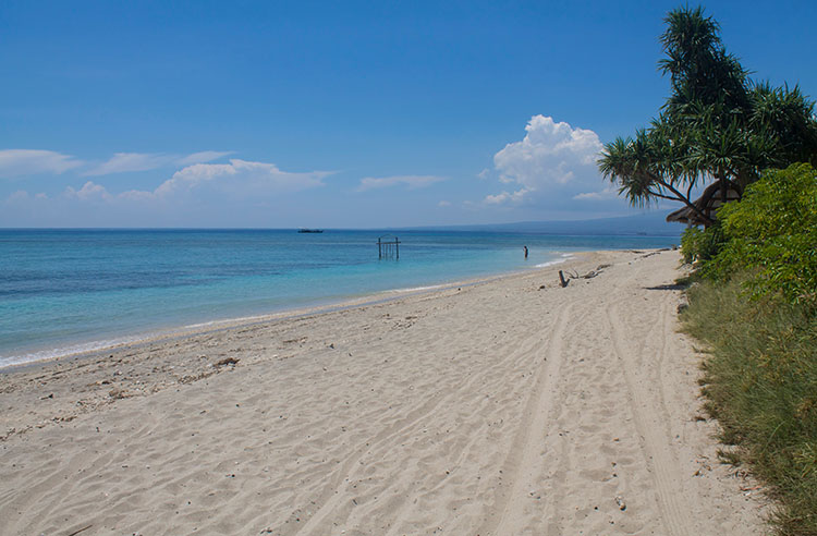 The best beaches on Gili Air, Indonesia -- the north coast