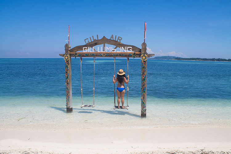 The best beaches on Gili Air, Indonesia -- the west coast