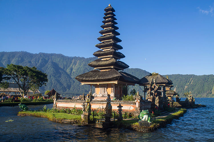 Things to do in Munduk, Bali -- see Bratan Temple