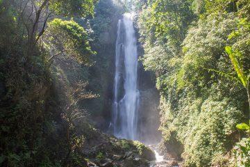 Hiking to waterfalls in Munduk, Bali, Indonesia