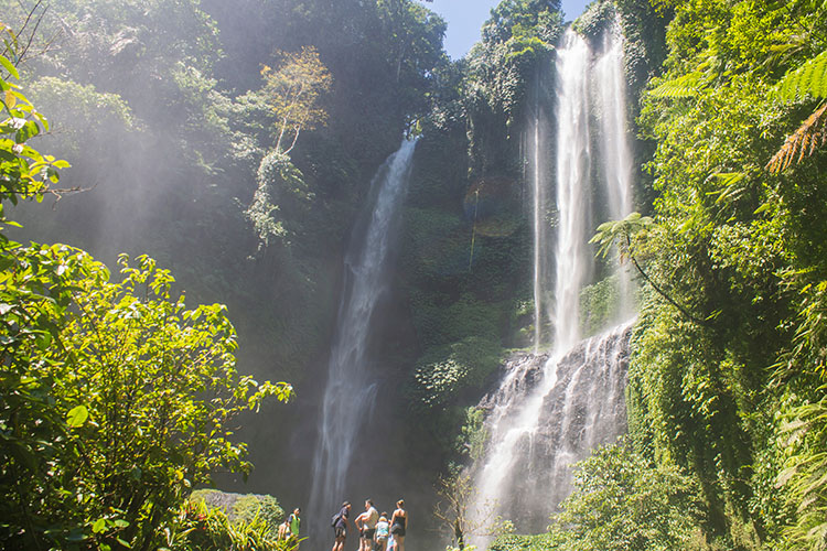 Things to do in Munduk, Bali -- a day trip to Sekumpul Falls