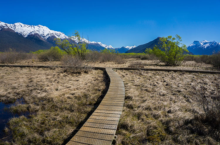 Hiking the Glenorchy Walkway, Queenstown, New Zealand