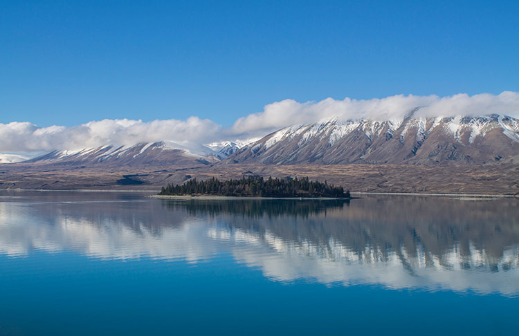 Two week New Zealand itinerary: Tekapo Peninsula Walkway