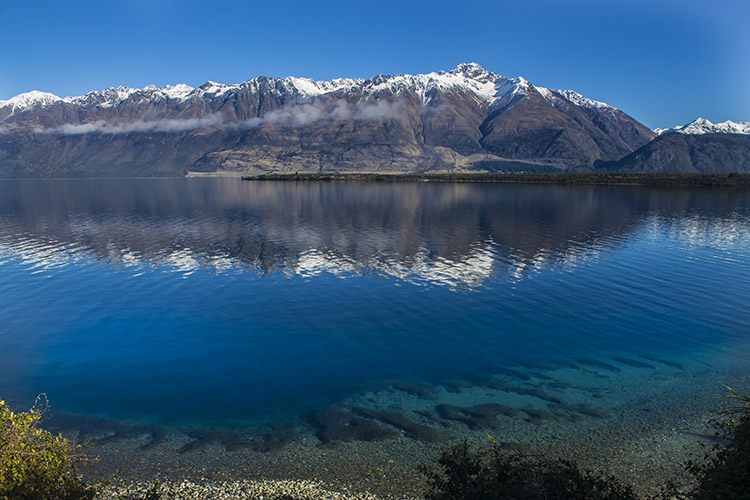 Queenstown to Glenorchy -- stunning mountain views
