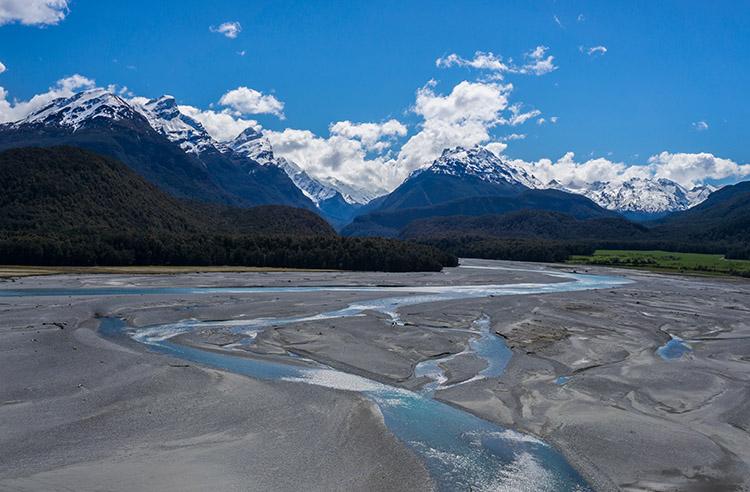 Paradise scenery, New Zealand