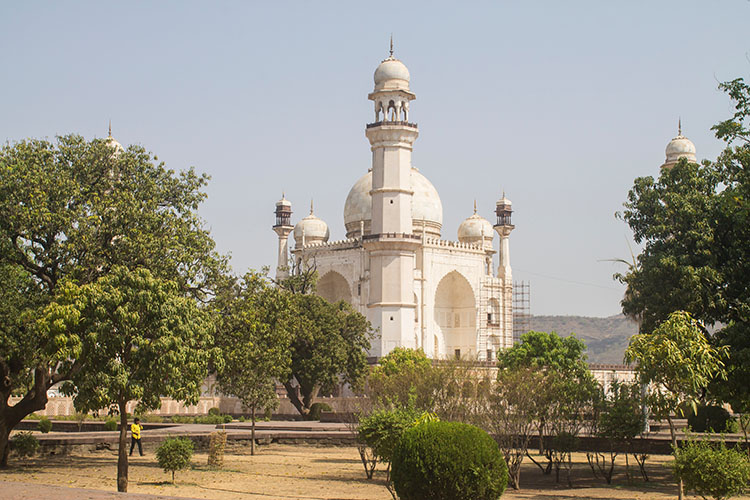 The day trip to Ellora Caves from Aurangabad, India -- Bibi Ka Maqbara