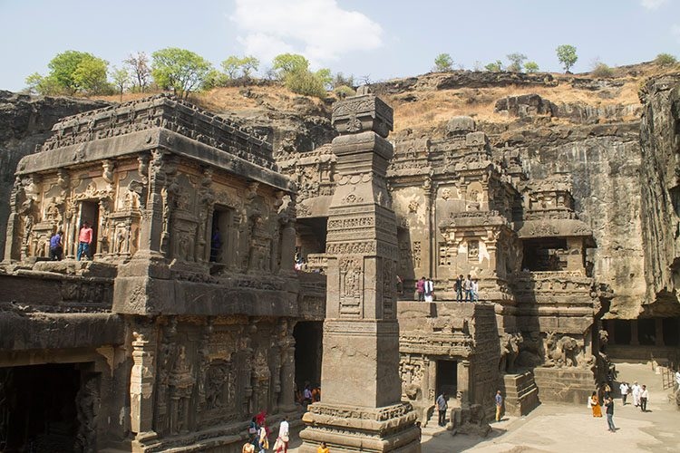 The day trip to Ellora Caves from Aurangabad, India --