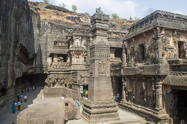 The day trip to Ellora Caves from Aurangabad, India
