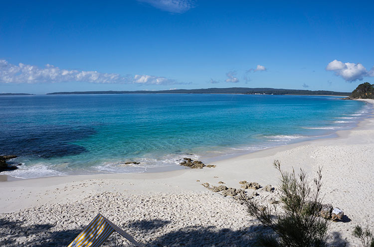 The start of the White Sands Walk, Jervis Bay, Australia