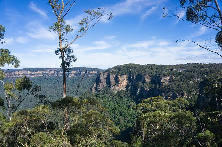 A day trip to the Blue Mountains from Sydney, Australia