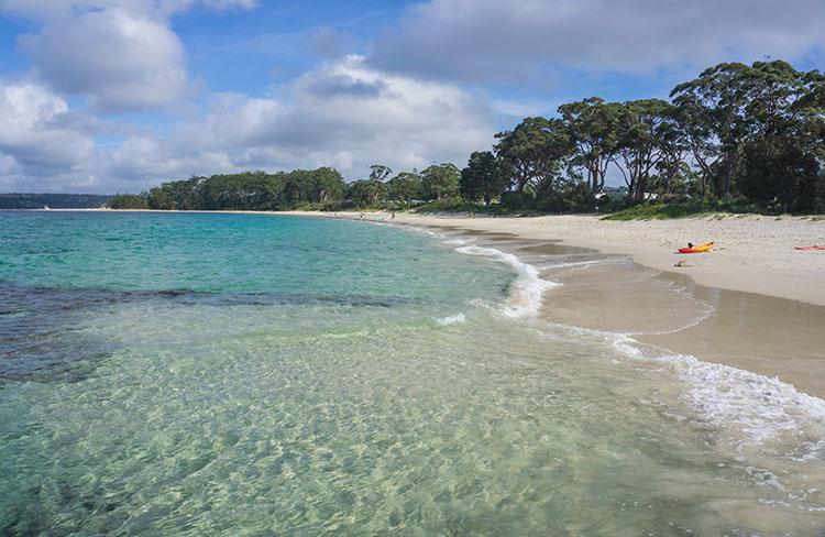 Huskisson Beach, Jervis Bay, Australia