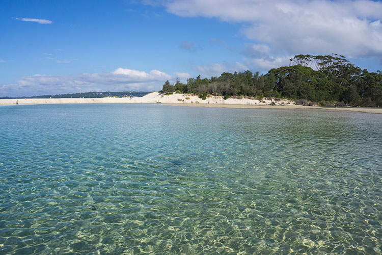 Moona Moona Creek, Jervis Bay, Australia