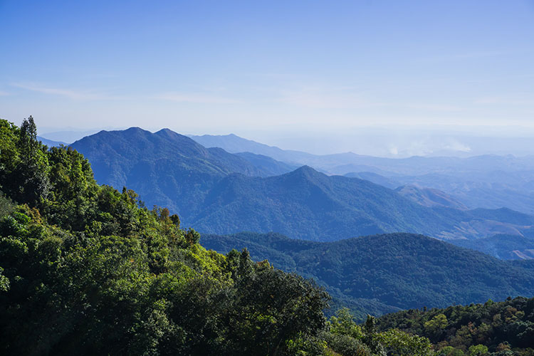 Stunning Doi Inthanon views, Thailand