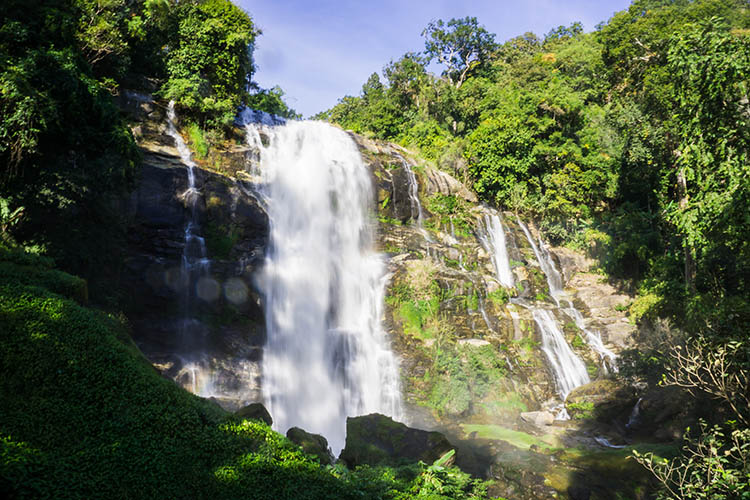 Wachirithan Waterfall, Doi Inthanon National Park, Thailand