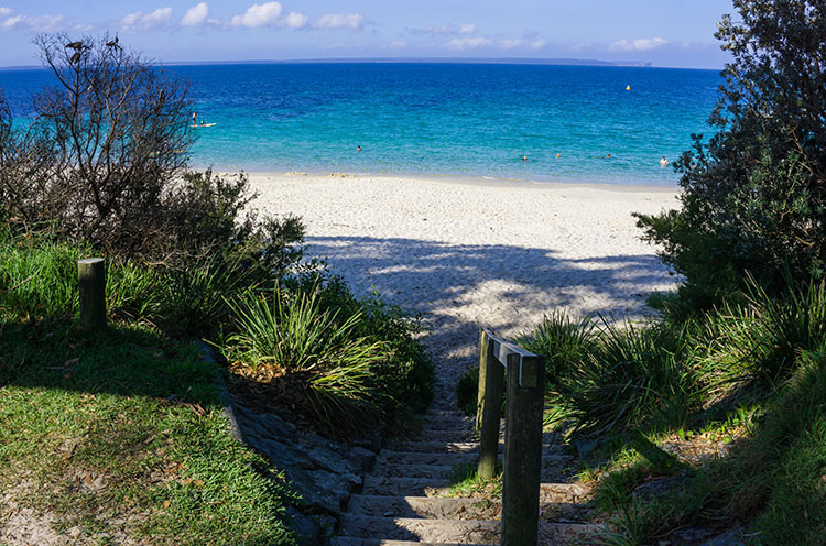 Walks in Huskisson, Jervis Bay, New Zealand